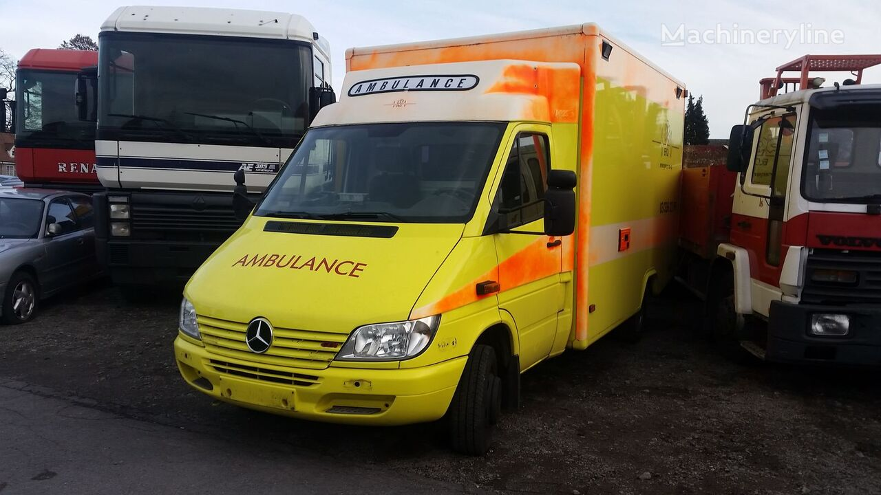 Mercedes benz sprinter 413 cdi ambulances for sale from for Mercedes benz belgium