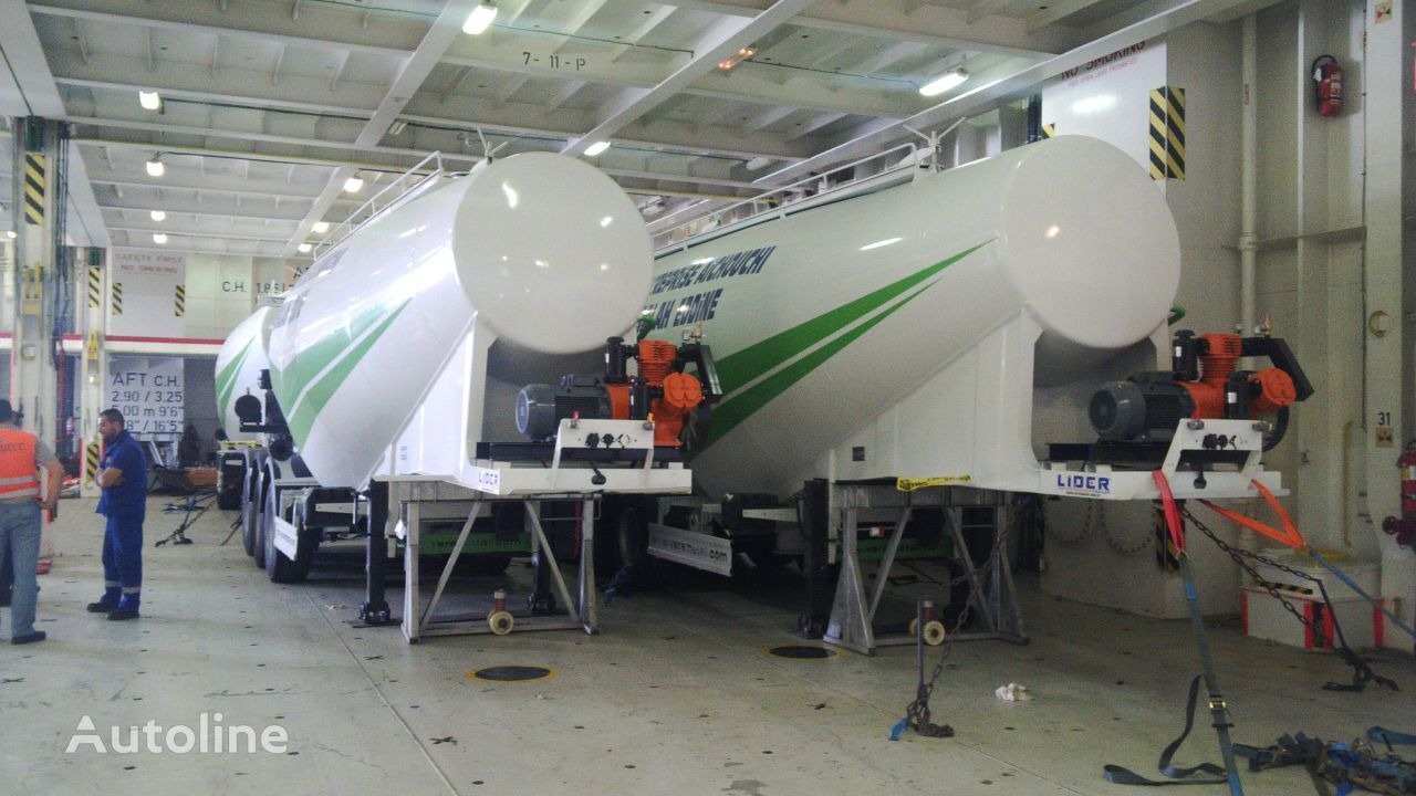 new LIDER 2018 MODELS YEAR (MANUFACTURER COMPANY LIDER TRAILER & TANKER ) cement tank trailer