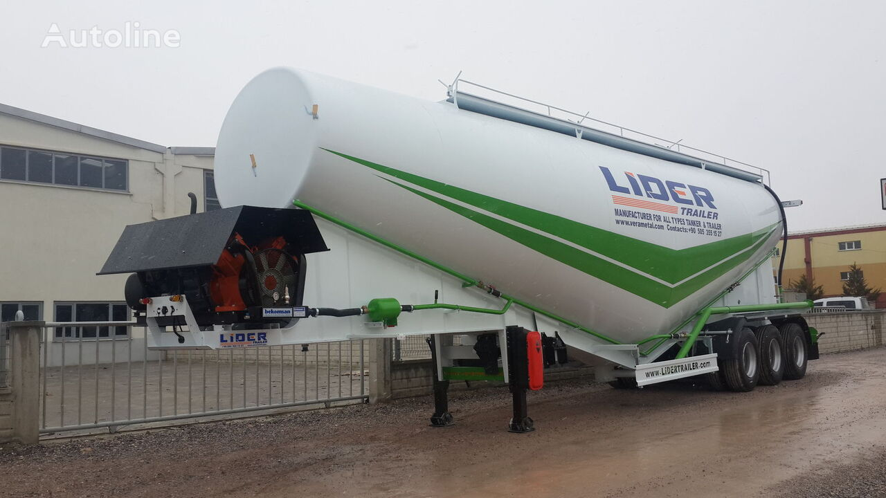 new LIDER 2018 NEW 80 TONS CAPACITY  FROM MANUFACTURER READY IN STOCK  cement tank trailer
