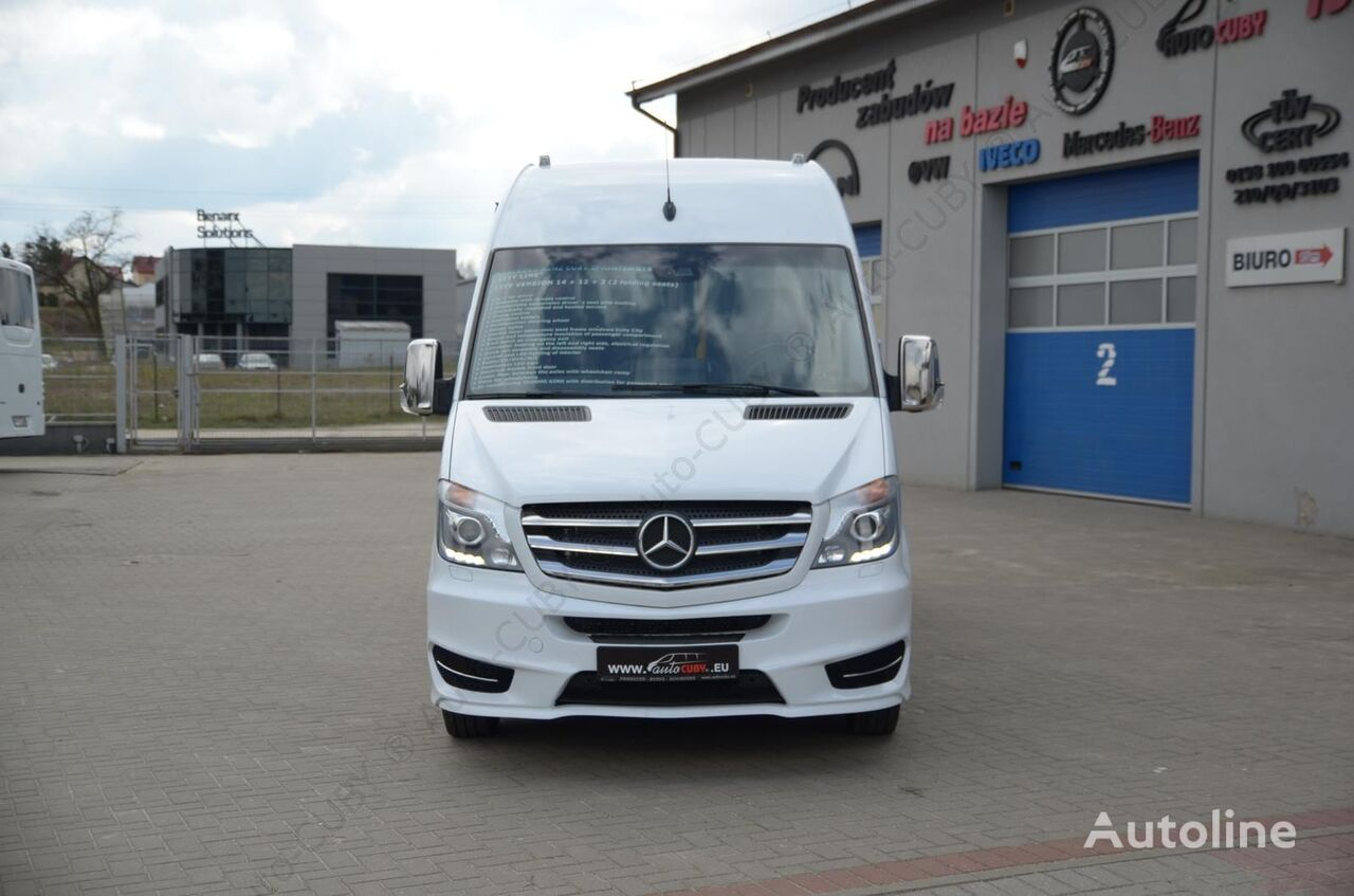 New mercedes benz cuby sprinter 519 cdi city bus for sale for Where to buy used mercedes benz
