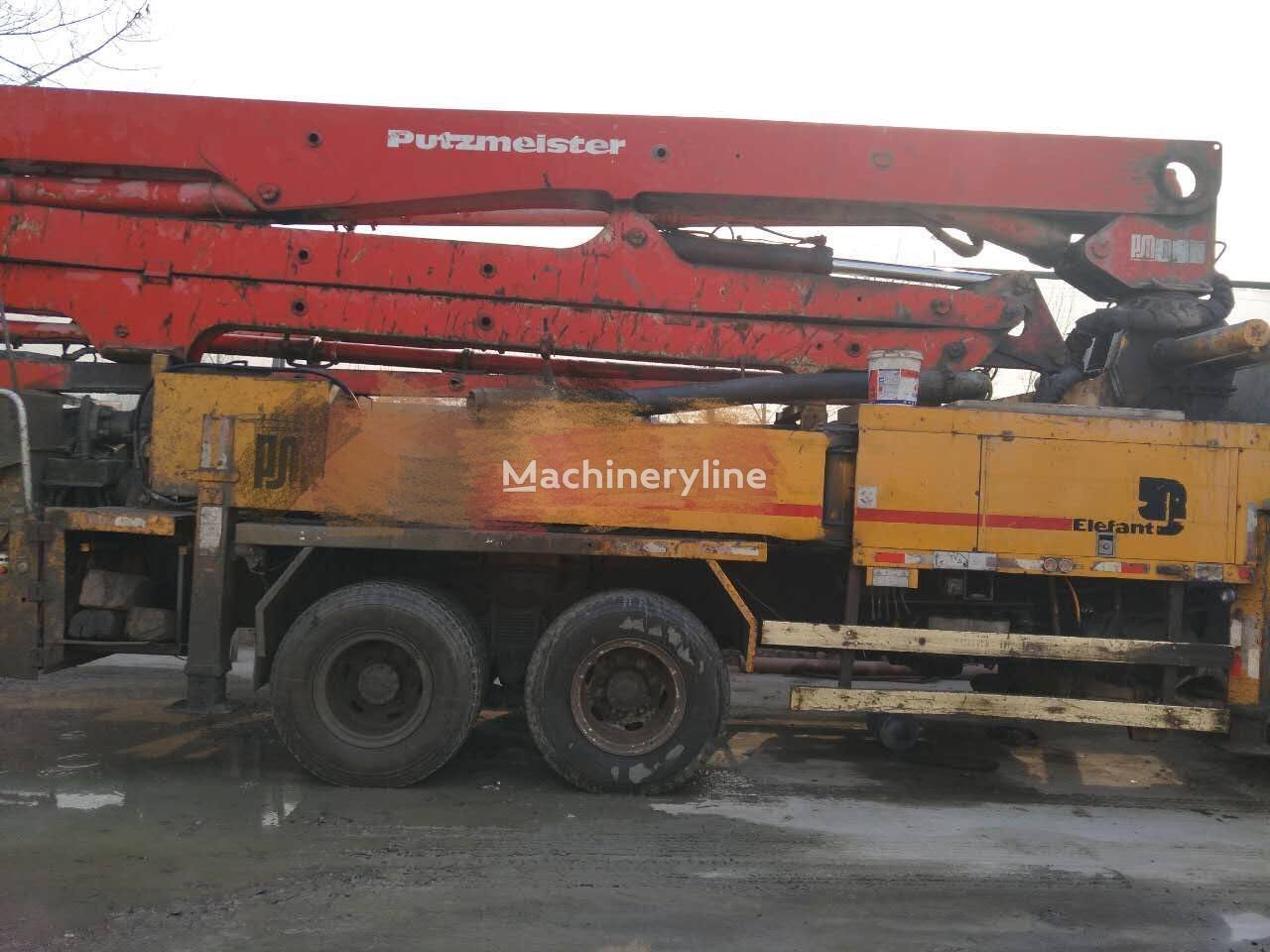 Putzmeister M36 Concrete Pumps For Sale Truck Mounted