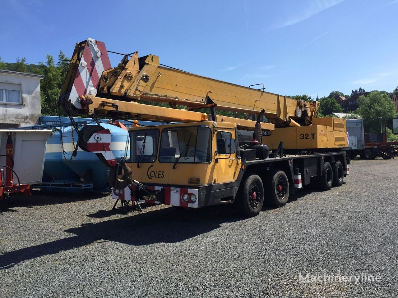 Coles 32 35 to sep motor 4 achsen mobile cranes for sale for Motors used in cranes