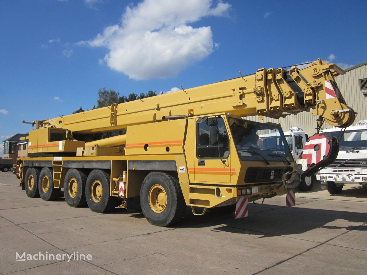 Tower Crane Vs Mobile Crane : Grove gmk ton mobile cranes for sale all terrain