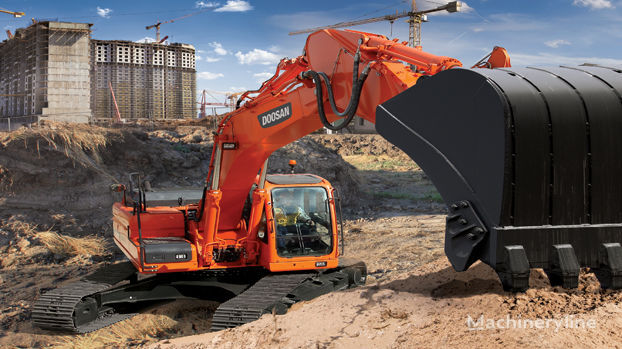 New doosan dx 260 lca tracked excavator for sale tracked for Lca construction