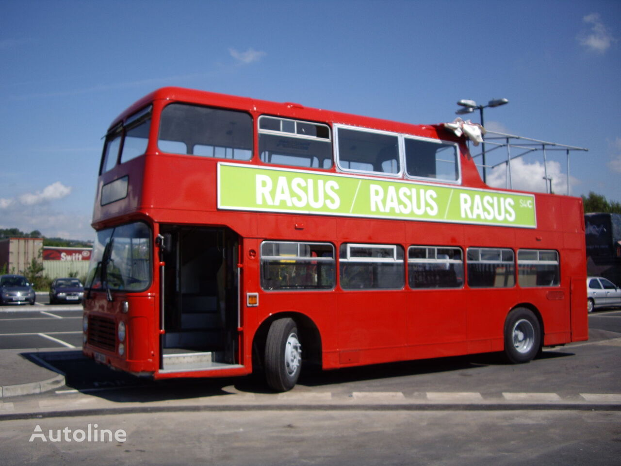 Bristol VRT half open topper double decker bus