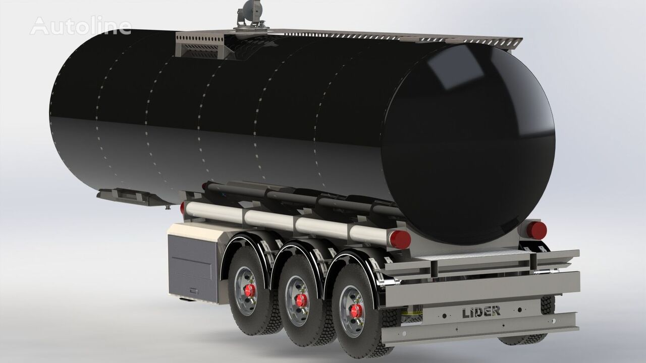 new LIDER 2018 year directly from manufacturer compale stockny ready avail fuel tank trailer
