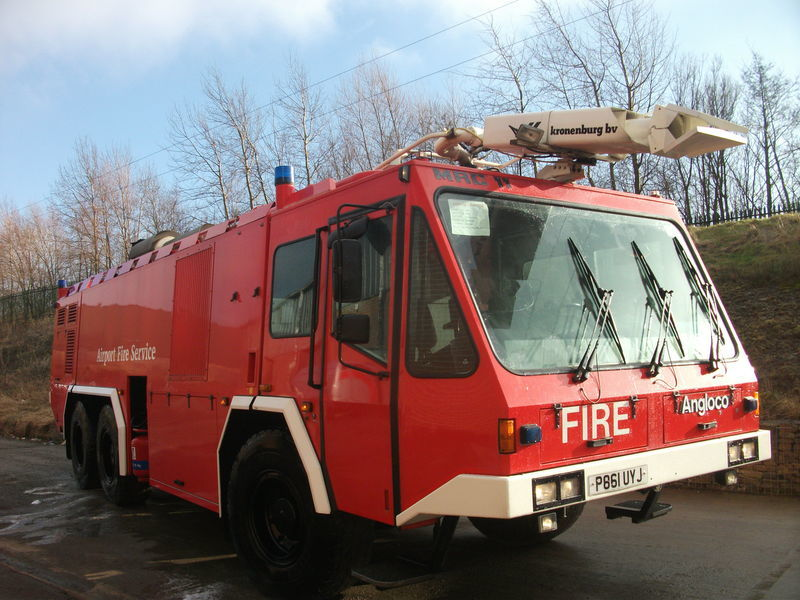 ## FOR HIRE # ANGLOCO AIRPORT FIRE FIGHTING VEHICLE / KRONENBURG airport fire truck