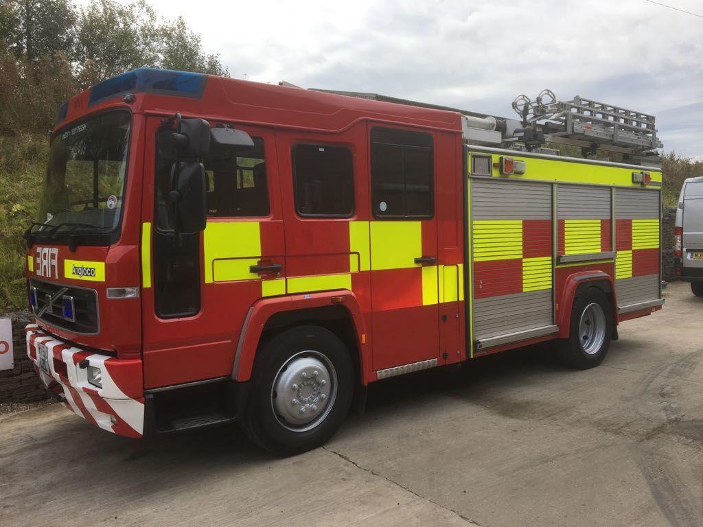 VOLVO FL6 fire truck