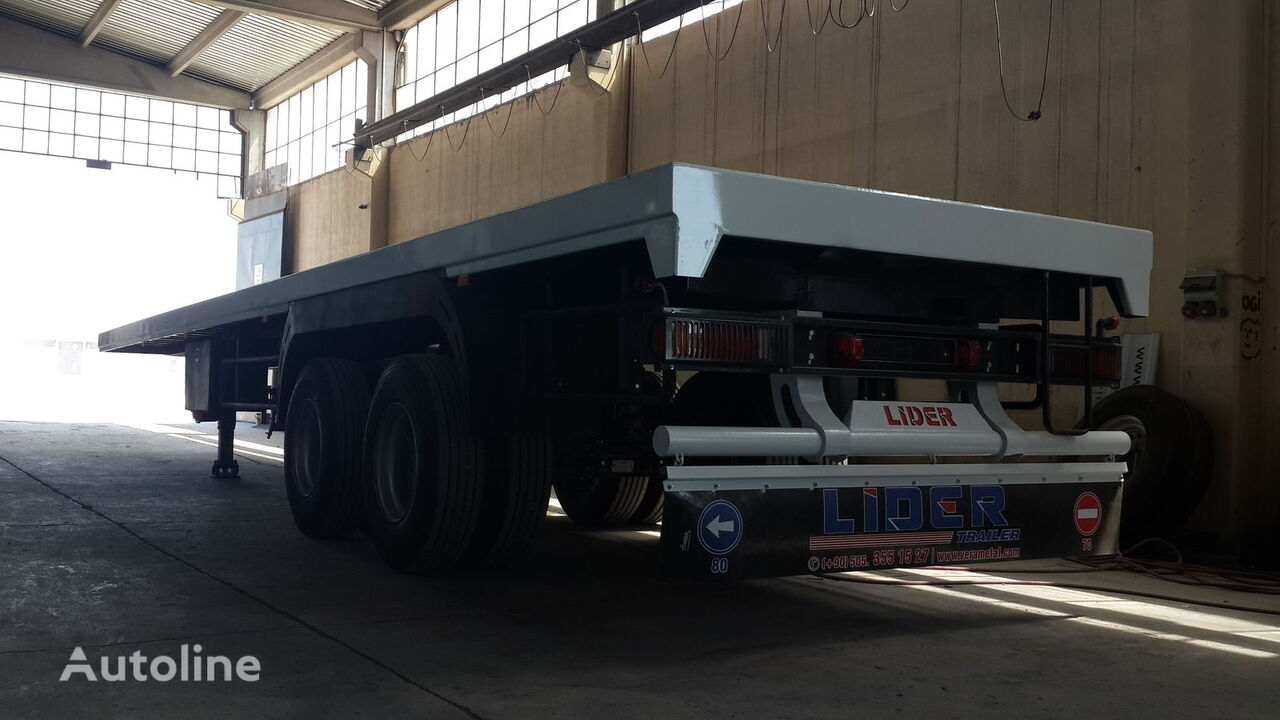 new LIDER 2018 MODELS YEAR (MANUFACTURER COMPANY LIDER TRAILER & TANKER ) container chassis semi-trailer