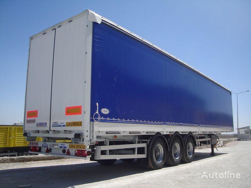 new LIDER Lıder 2018 MODELS LIDER TRAILER MANUFACTURER COMPANY  curtain side semi-trailer