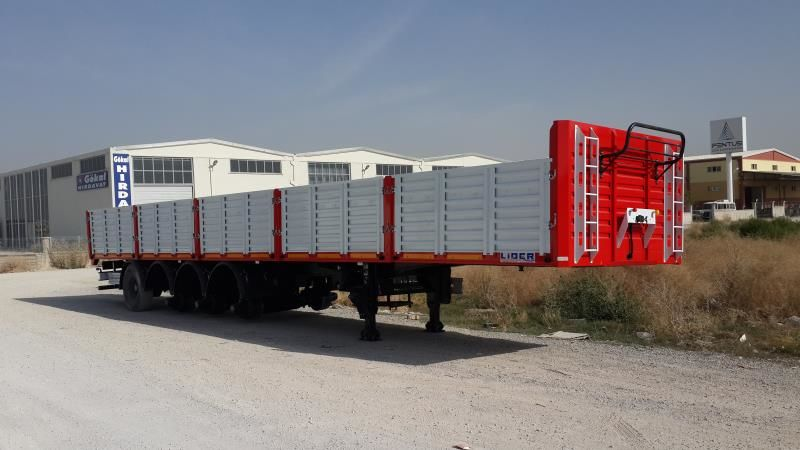new LIDER 2018 MODEL NEW LIDER TRAILER DIRECTLY FROM MANUFACTURER FACTORY  flatbed semi-trailer