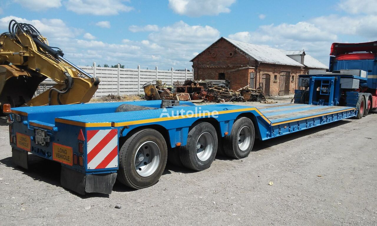 King Gtl70 Low Bed Semi Trailers For Sale Low Loader Semi