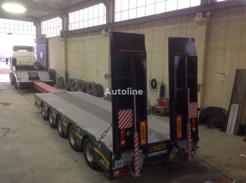 new LIDER 2018 model new by manufacturer Lider Trailer low bed semi-trailer
