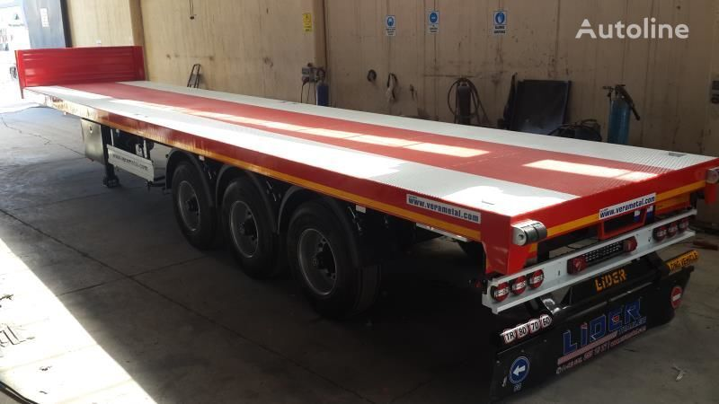 new LIDER 2018 MODEL NEW DIRECTLY FROM MANUFACTURER FACTORY AVAILABLE READ platform semi-trailer