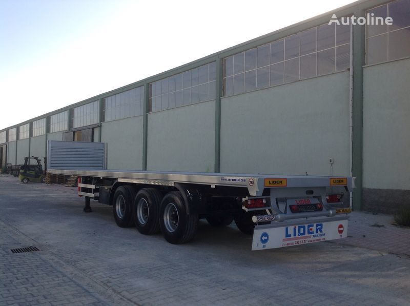 new LIDER 2018 YEAR NEW MODELS containeer flatbes semi TRAILER FOR SALE (M platform semi-trailer