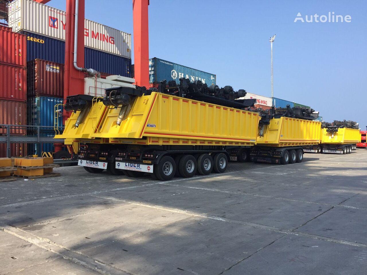 new LIDER 2018  new dumper from manufacturer company LIDER TRAILER  tipper semi-trailer