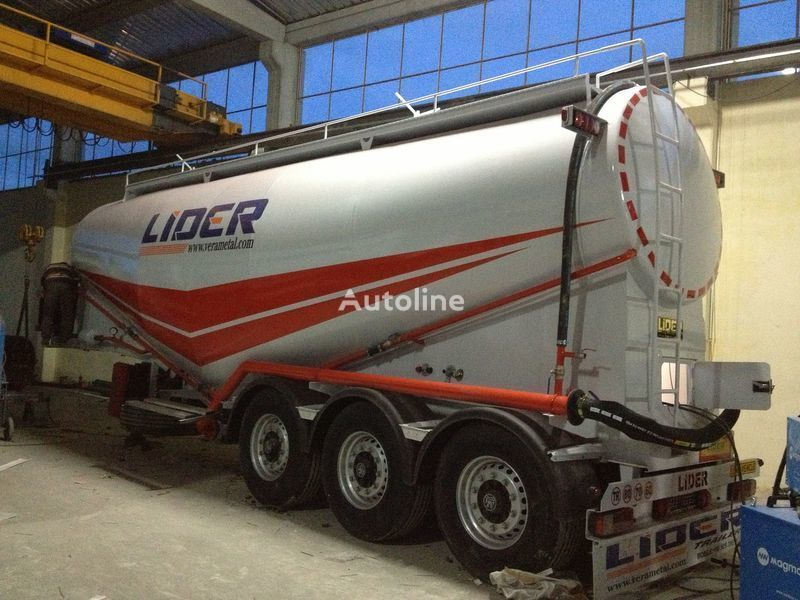 new LIDER 2018 MODEL NEW(MANUFACTURER COMPANY LIDER TRAILER & TANKER ) silo tank