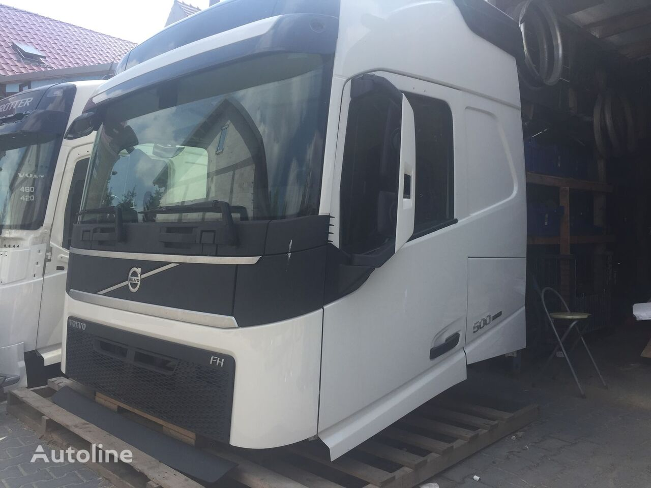 Volvo Cabins For Volvo Fh 4 Euro6 Truck For Sale From