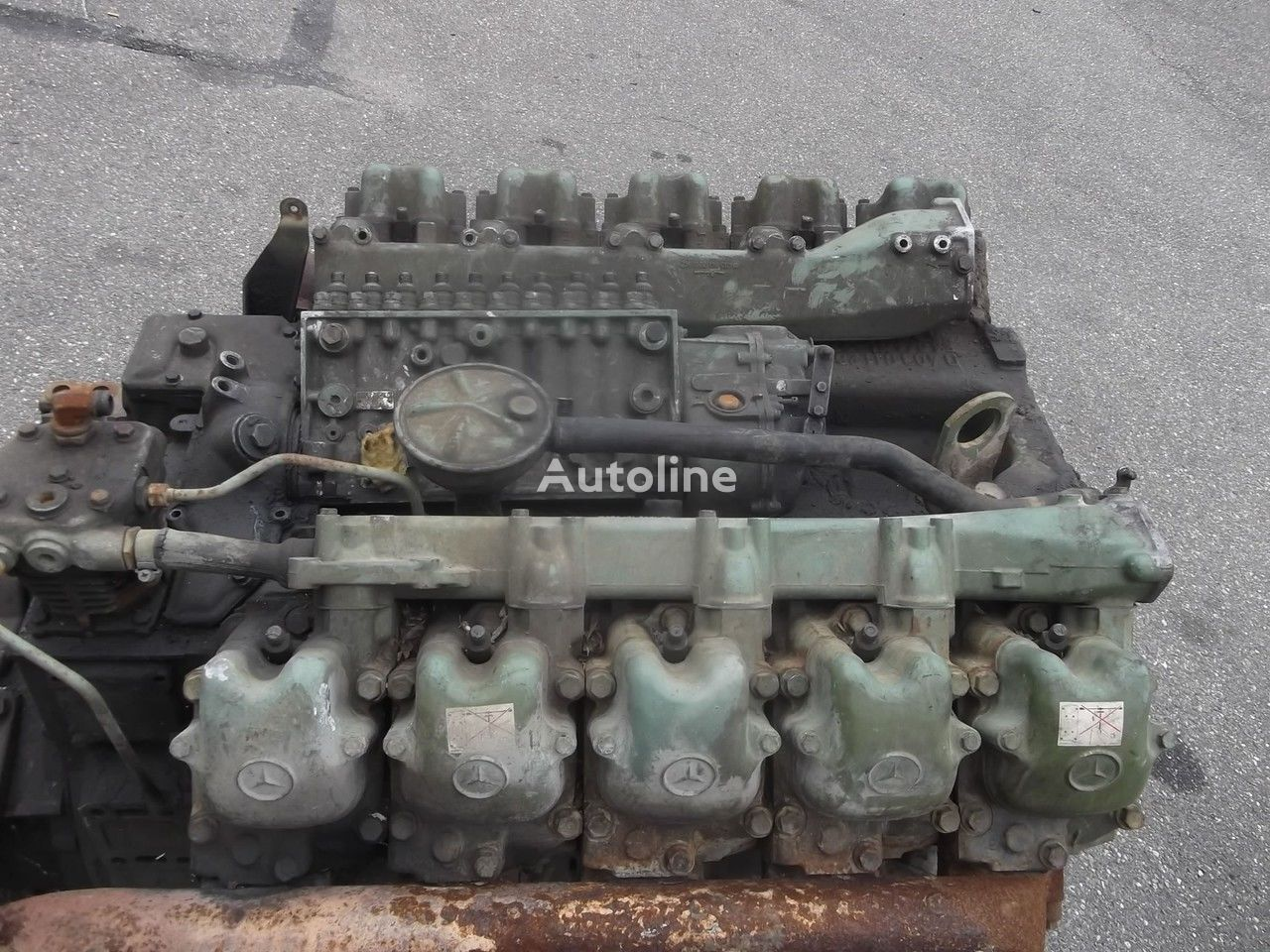 Mercedes benz om 403 engine v10 zf gearbox 9 pieces in for Mercedes benz engines for sale