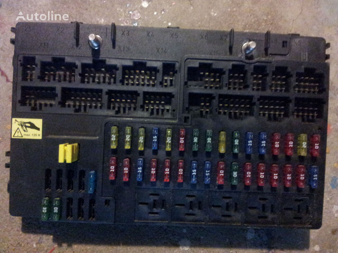 mercedes benz actros mp2 mp3 gm unit grundmodul fuse box central rh autoline eu co uk mercedes benz actros fuse box location 2000 Mercedes S500 Fuse Box Diagram