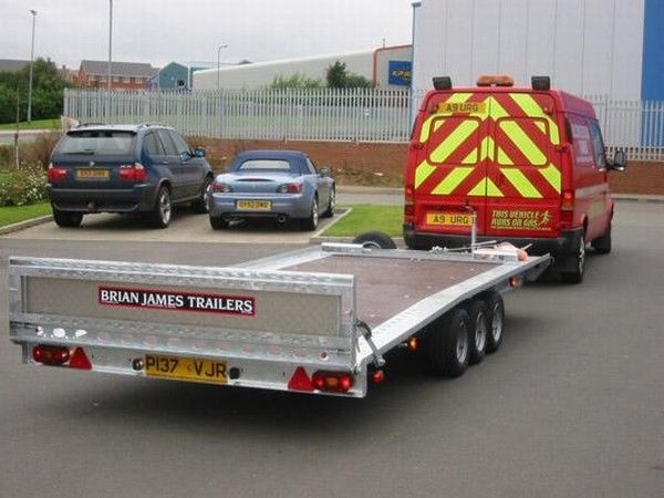 Auto Trailer For Sale Uk: BRIAN James Trailers TT-T-303 Car Transporter Trailers For