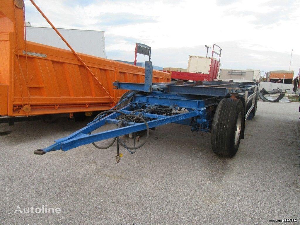 SCHMITZ CARGOBULL WF 18  container chassis trailer