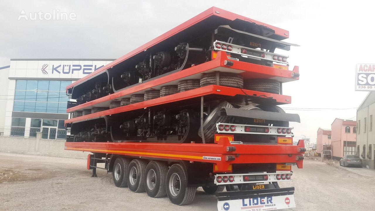 new LIDER 2018 YEAR NEW TRAILER FOR SALE (MANUFACTURER COMPANY) flatbed trailer