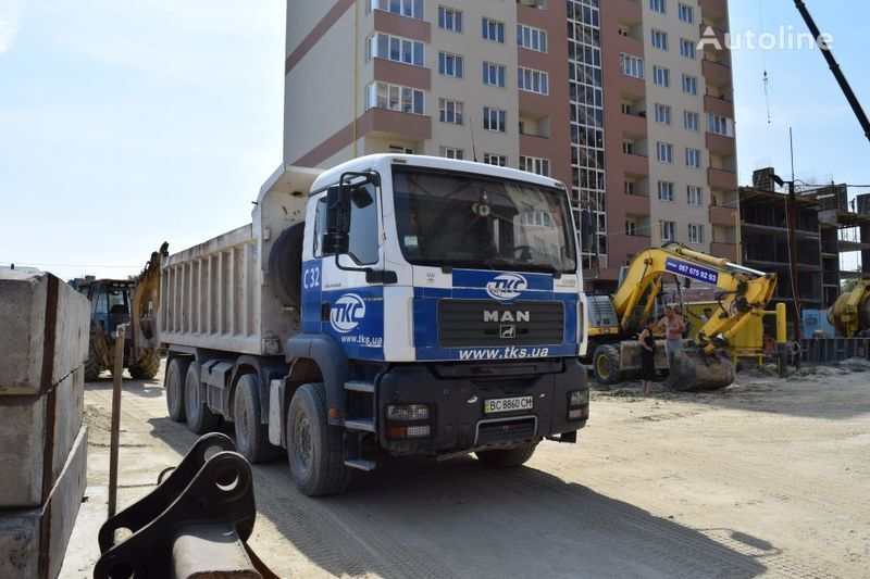 MAN TGA41.400BB-WW dump truck