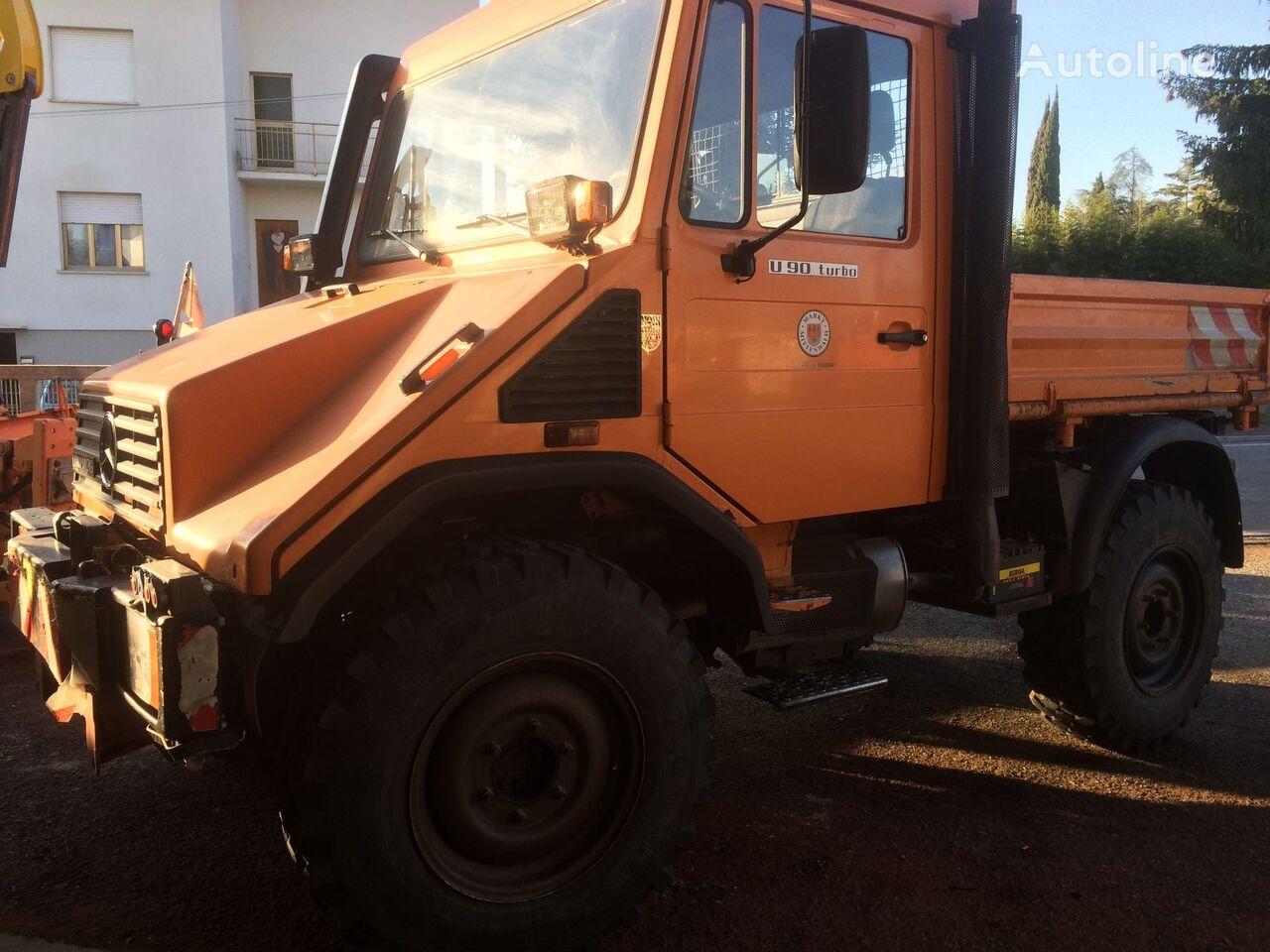 MERCEDES-BENZ Unimog U90 dump truck