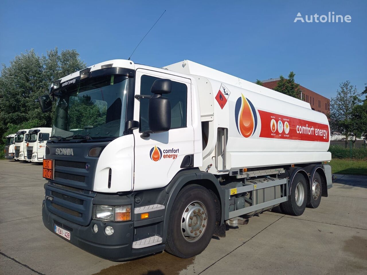 SCANIA fuel truck