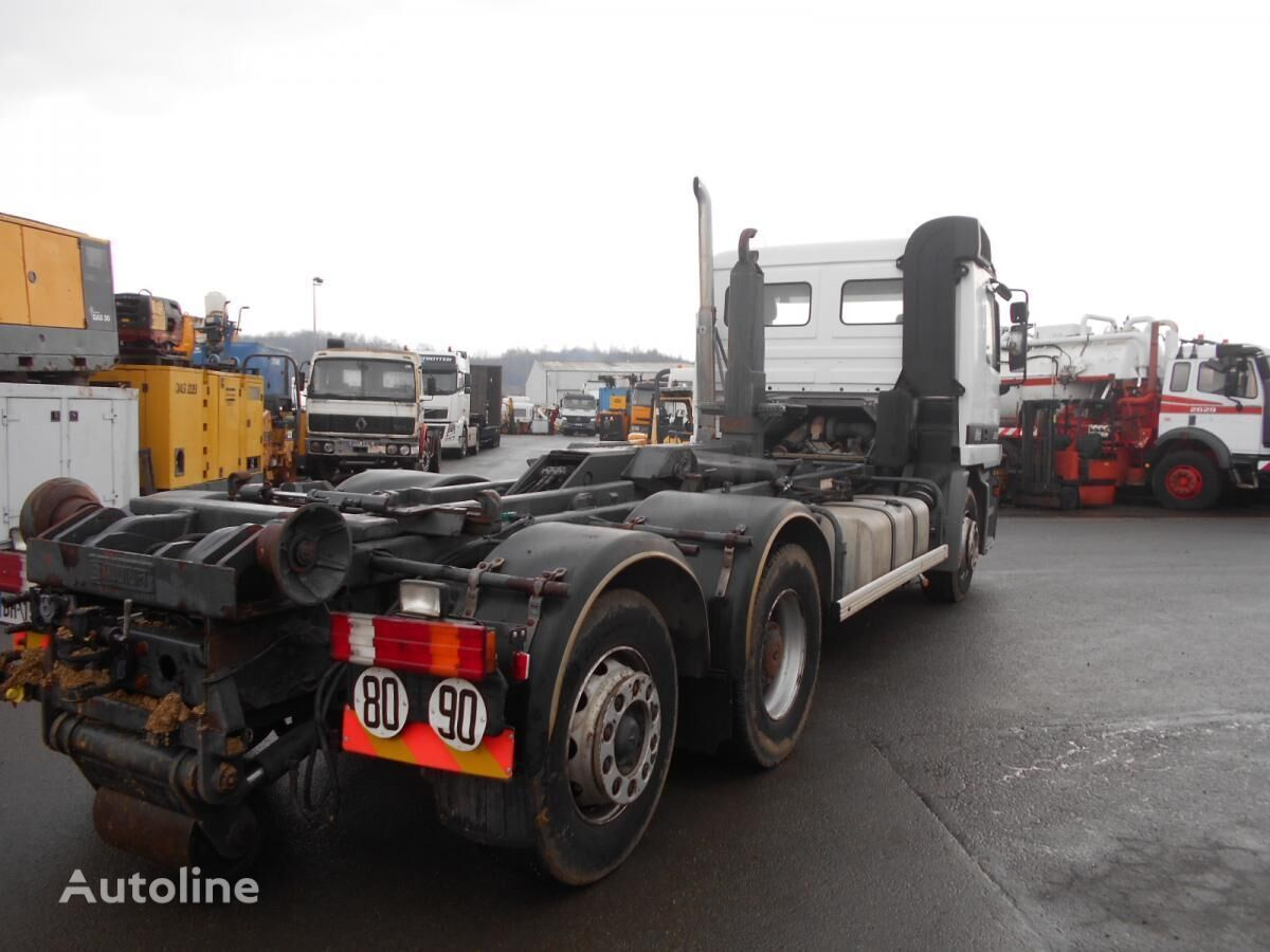 Mercedes benz actros 2531 hook lifts for sale hook lift for Used mercedes benz truck