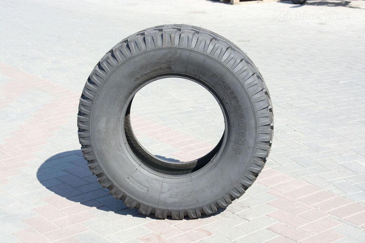 new 16PR Implement-AW Superking 12.50/80 R 18.00 wheel loader tire