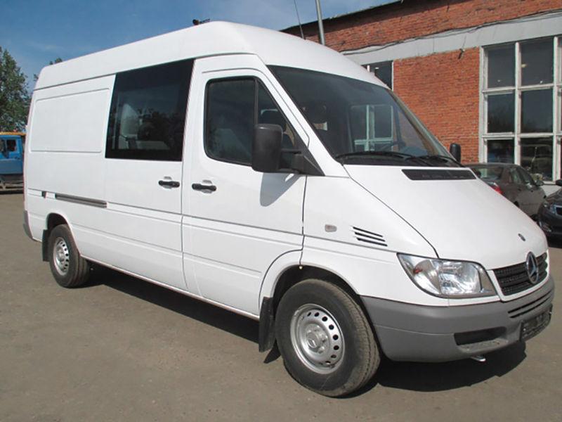 New mercedes benz sprinter combi van for sale from russia for Mercedes benz big van