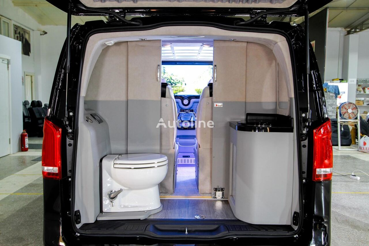 New Mercedes Benz V Class Vito Vip Vehicles With Wc Unit